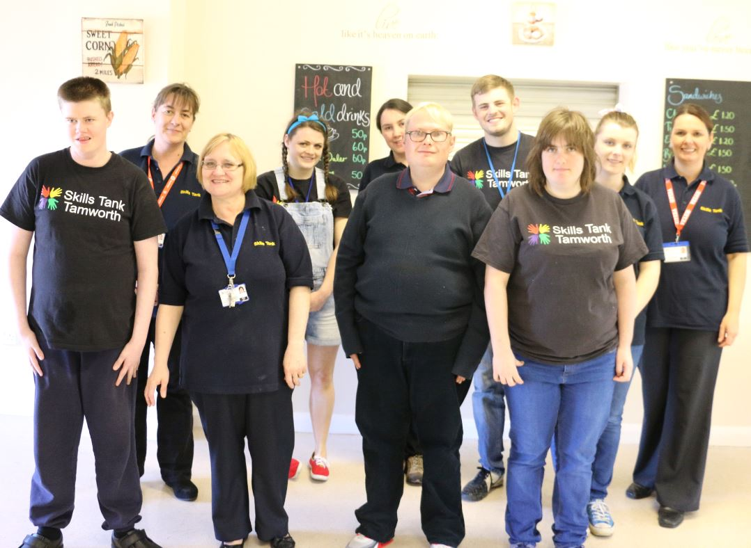 Skills Tank Supports Adults with Learning Difficulties